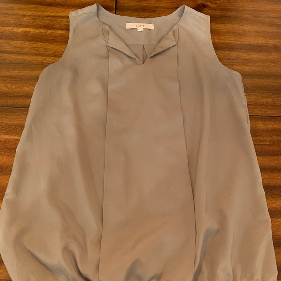 LOFT Tops - XS Loft Gray Blouse